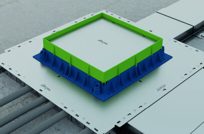 THE . BOX, the plug & play floor system