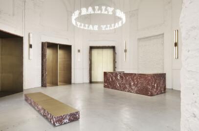Bally showroom