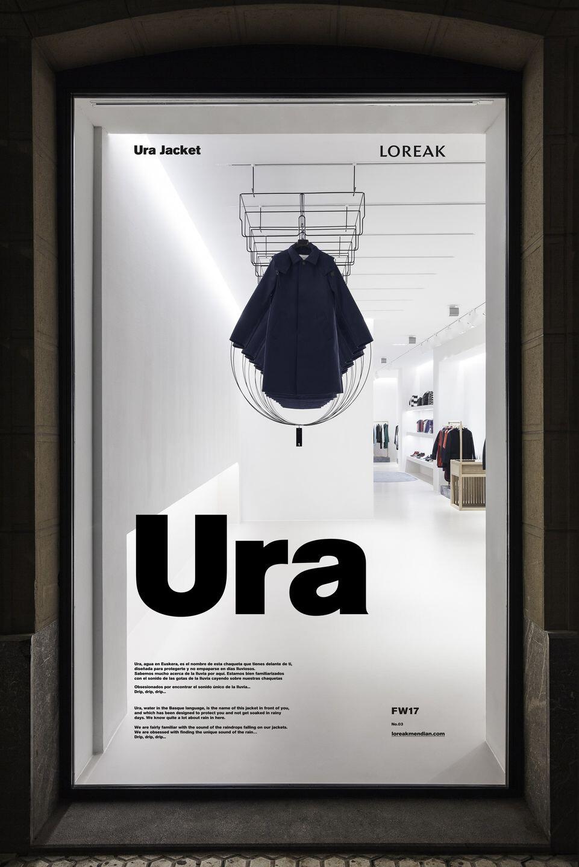 Ura Window Display