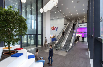 Sky Milano, New Hall And Canteen