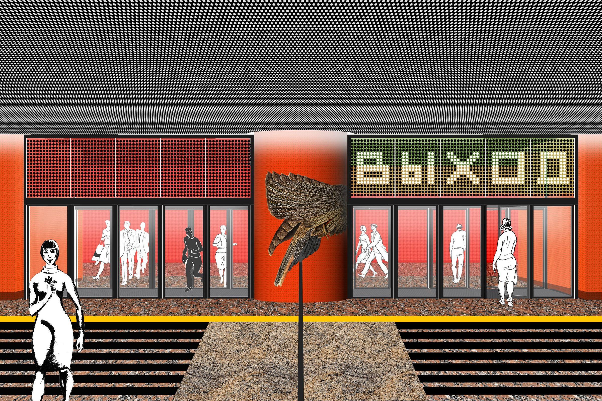 TEREKHOVO Metro Station