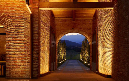Cascina Ranverso, Buttigliera Alta, Turin, Italy. Light planning: Susanna Antico Lighting Design Studio