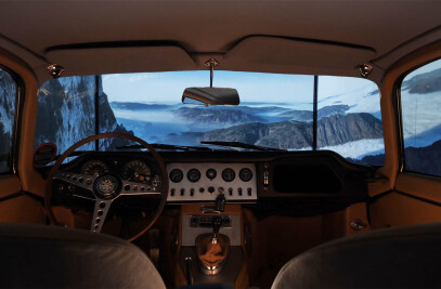 The first VR car lift theatre