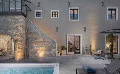 Villa Punta Pennata, Bacoli, Naples, Italy. Project: geom. Giuseppe Carannante