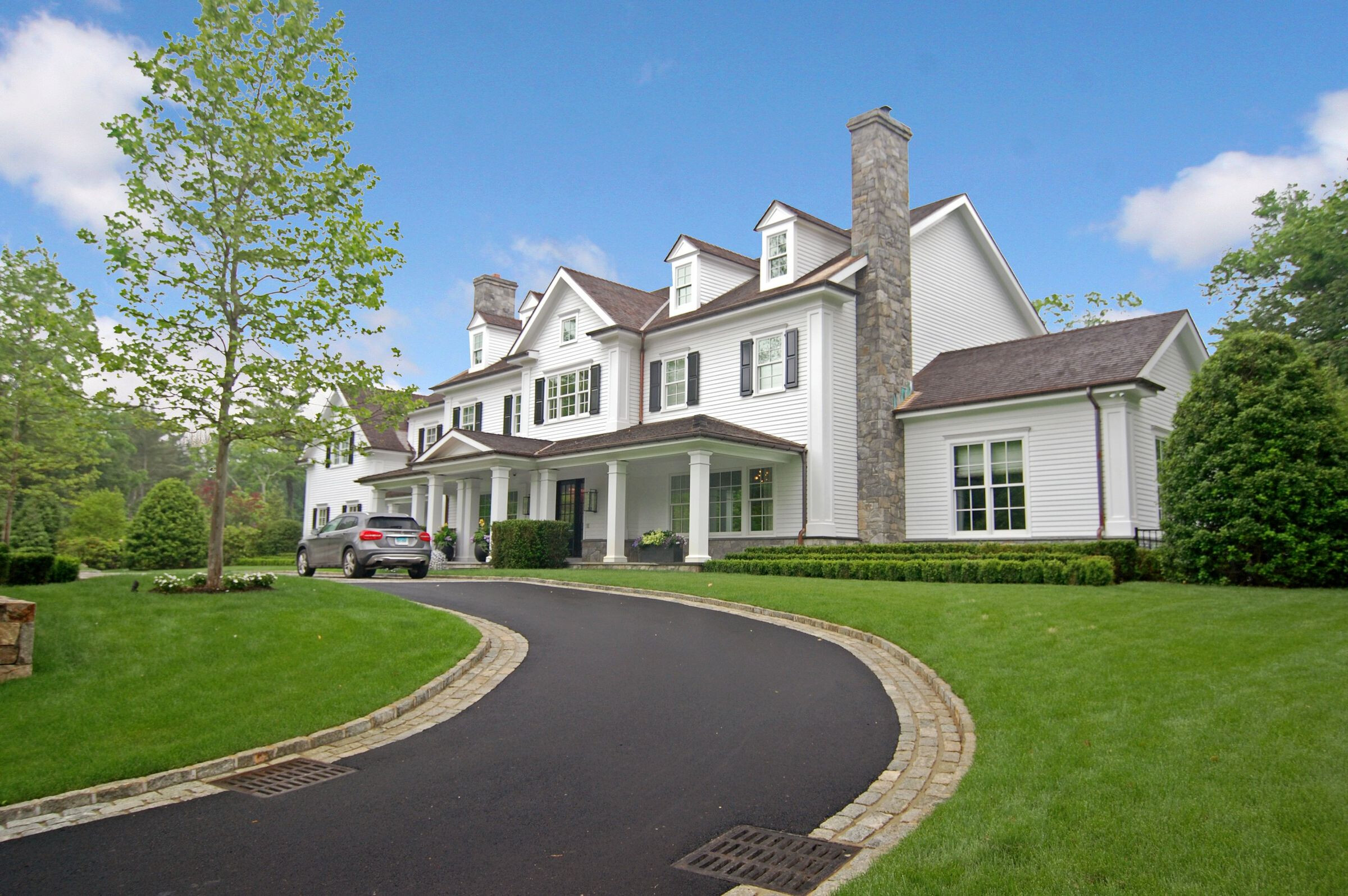 Custom Colonial in Greenwich CT