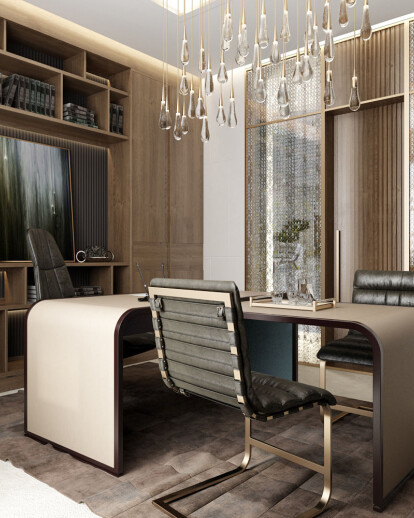 Architectural Rendering for Office Design