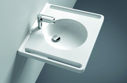Ergonomic washbasin models