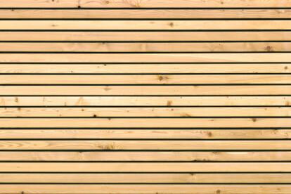 TIGA and DEKORA wooden facade system