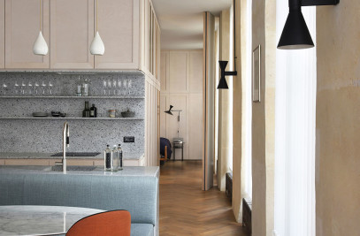 Apartment refurbishment Rue Etienne Marcel