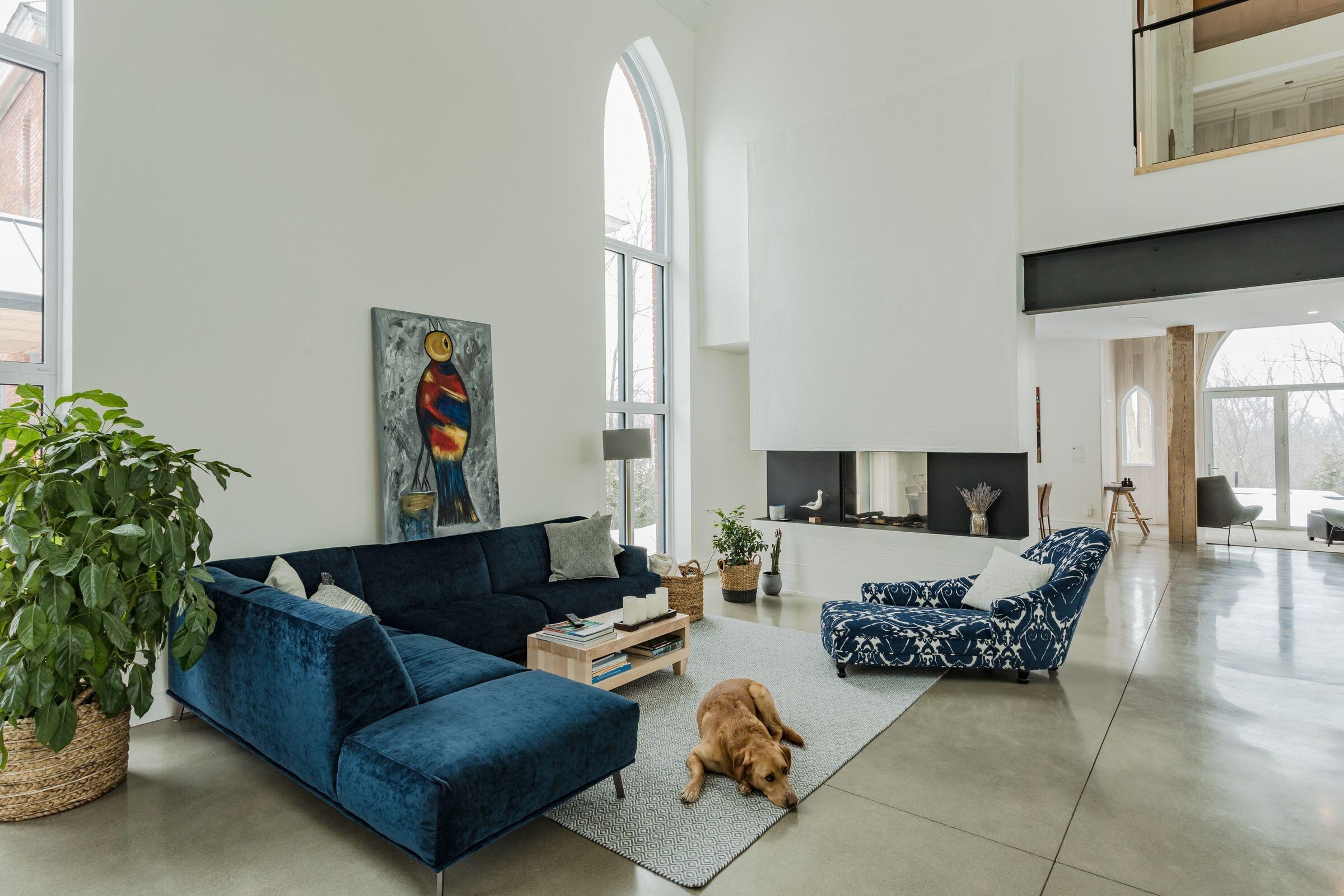 Church's residence