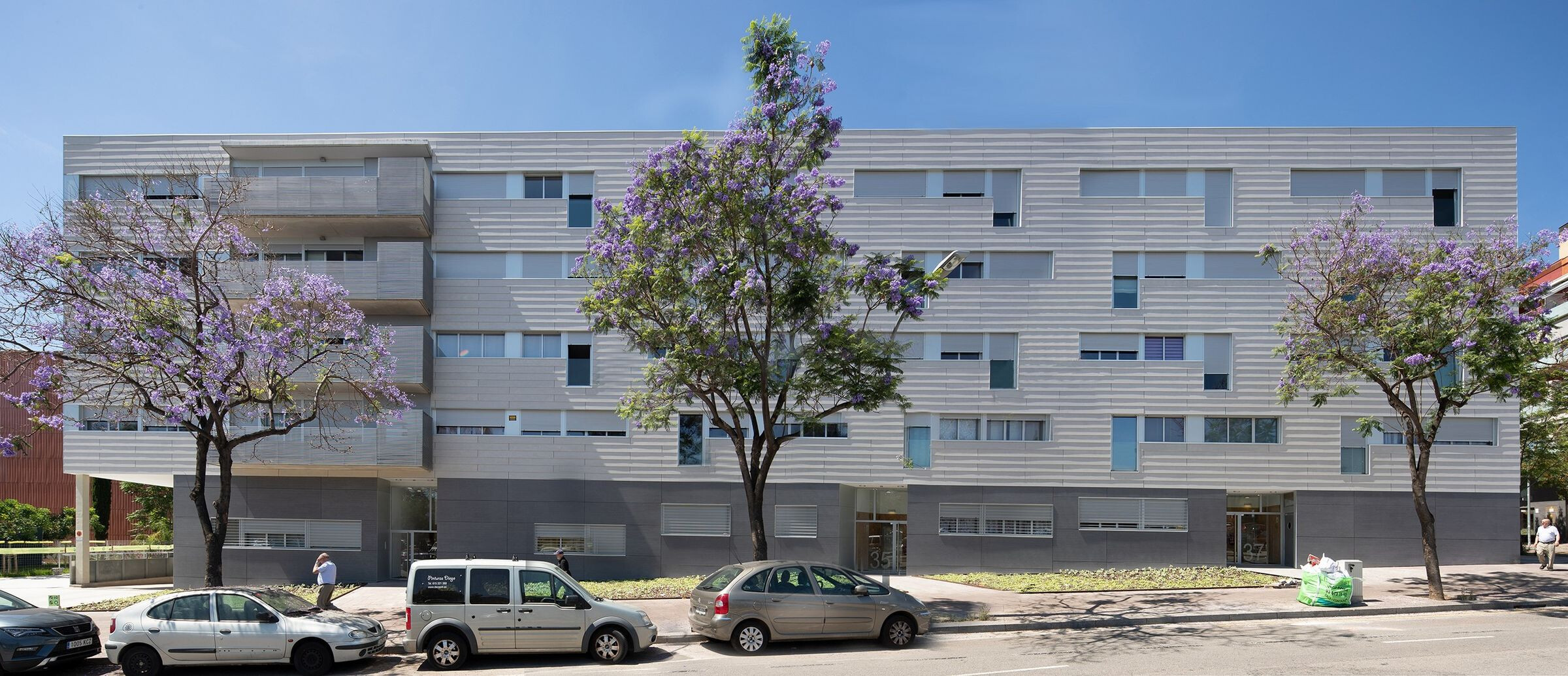 Block Of 34 Apartments
