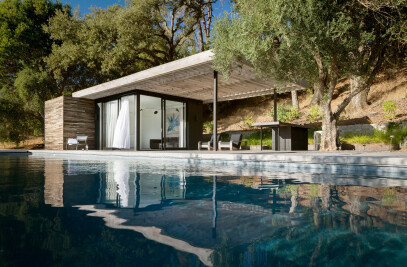 Dry Creek Poolhouse