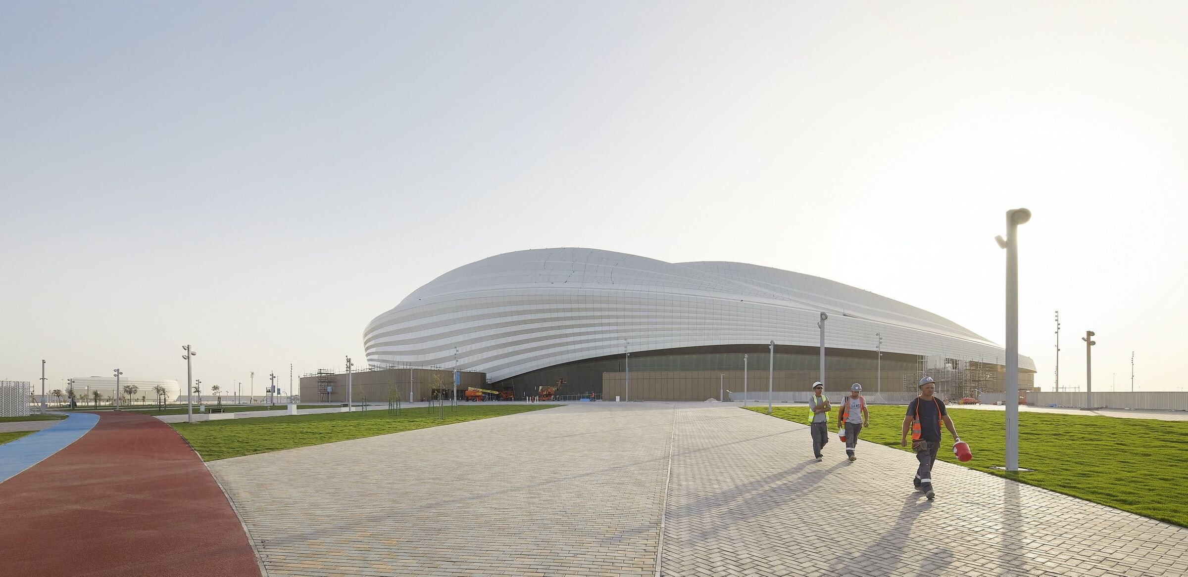Al Janoub Stadium in Al Wakrah
