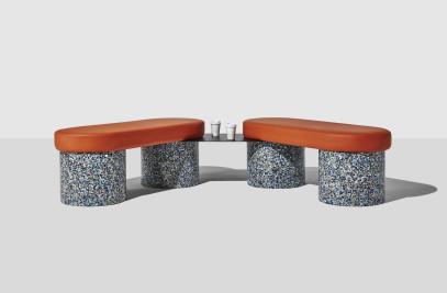 Confetti Bench