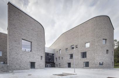 Lehtikangas School, Library And Kindergarten