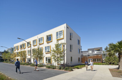 UCSB San Joaquin Housing, North Village Clusters