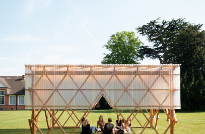 Urban Room pavilion