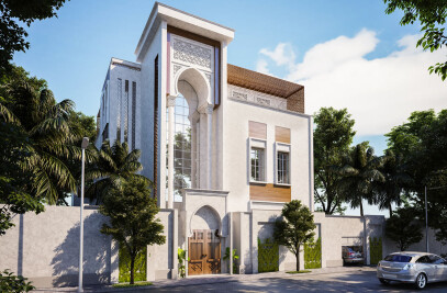 Traditional Arabic House Design