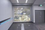Vario Privacy Glass in a warehouse - Glass ON