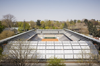 Simonne-Mathieu Tennis Court at Roland Garros