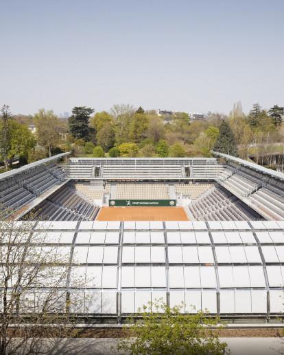 Simonne-Mathieu Tennis Court at Roland Garros