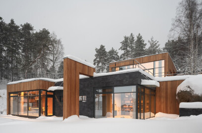 House on the slope