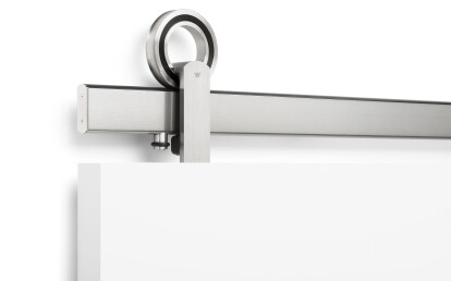 Baldur Top Mount in Brushed Stainless