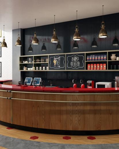 Contemporary Cafe Design - Lucaffe