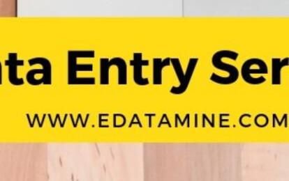 EDataMie - Online Data Entry Services