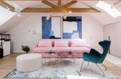Pink Drops – A romantic attic