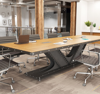 VI Beam Conference Table