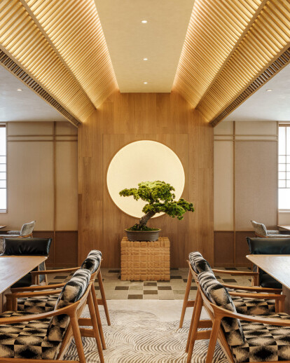 Japanese Lounge at Base Anfu by Red Design