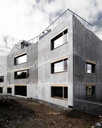 Apartment Building Waffenplatzstrasse