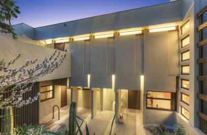 R.M. Schindler's Manola Court Penthouse