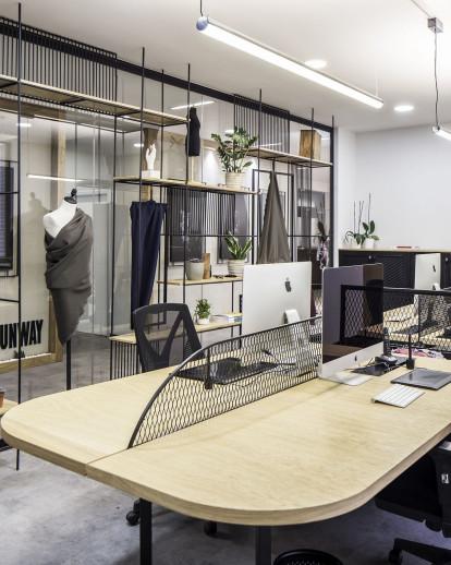 Elissa Stampa Fashion Design Office Slash Architects Archello