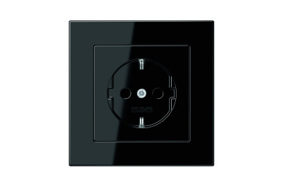 A 550 SCHUKO-Socket black