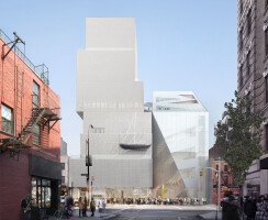 Rendering of the New Museum