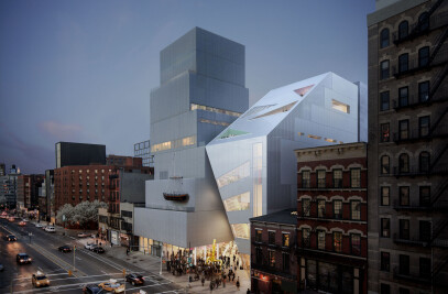 New Museum Unveils Design of Second Building