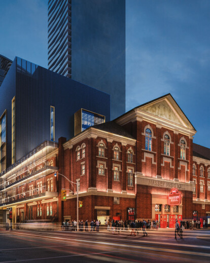 Massey Hall Renovations and Expansion