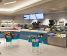 MIA's Pantry at Miami Airport Marriott by CORE architecture + design