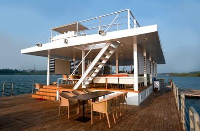 Floating Barge Restaurant