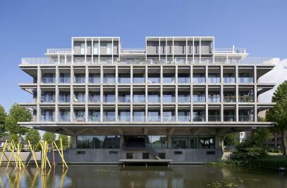 Office building transformation Den Bosch