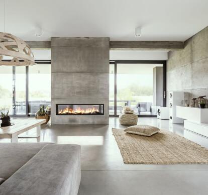 72 Inch See-Thru | Built-In Linear Vapor-Fire Fireplace