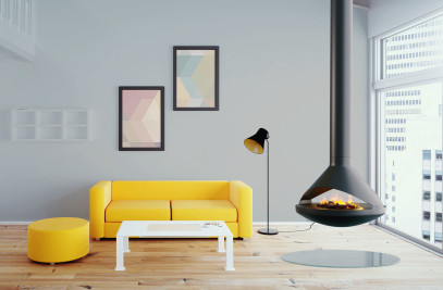 Aidan | See-Thru Suspended Vapor-Fire Fireplace