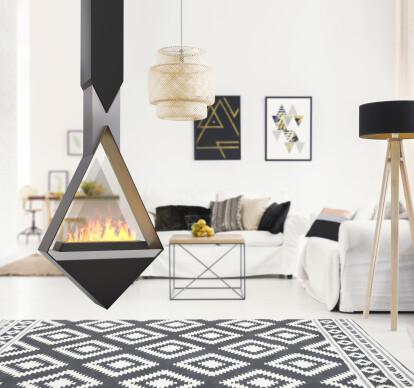 Monroe | See-Thru Suspended Vapor-Fire Fireplace