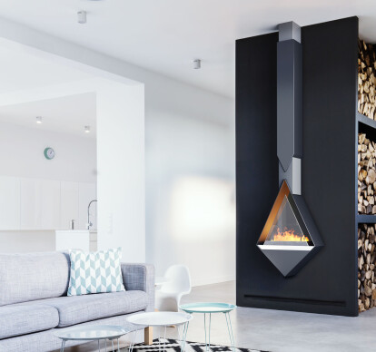 Monroe | Wall-Mount Vapor-Fire Fireplace
