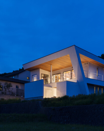 N12-house [Garage House With A Migratory House]