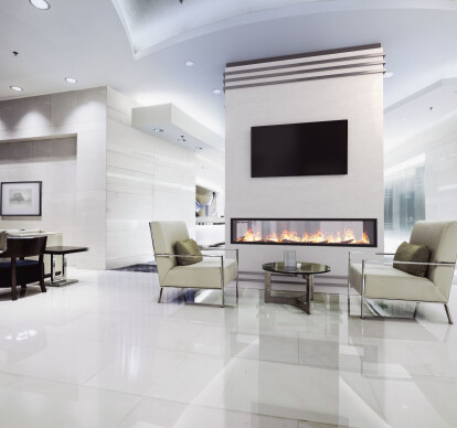 96 Inch See-Thru | Built-In Linear Vapor-Fire Fireplace