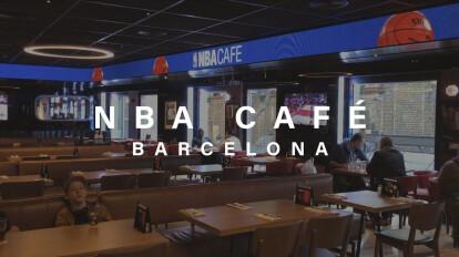 Led Indoor / Escaleras Led  |  Experiencia 360ª LED  | NBA Café en Barcelona ????