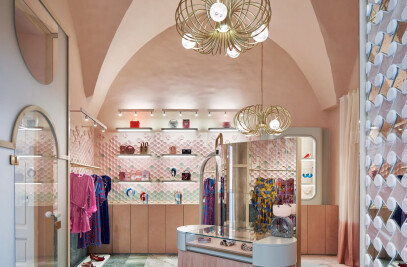 The Pink Closet – Palazzo Avino Boutique